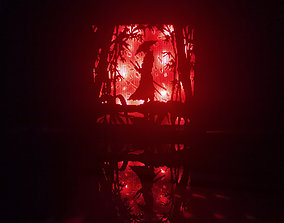 Samurai light box 3D printable model
