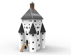 Castle or Chateau - Historic Castle 3D model