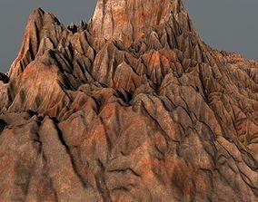 Prehistoric Volcano High Poly 3D