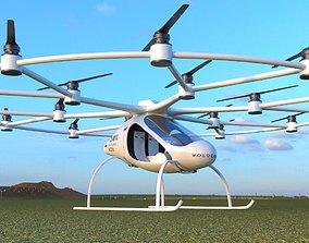 Air Taxi Drone 3D