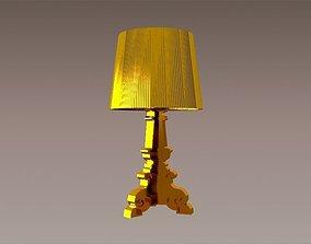 Kartell Bourgie Lamp 3D asset