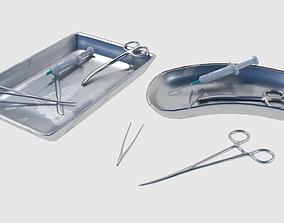 3D asset Surgical Instruments