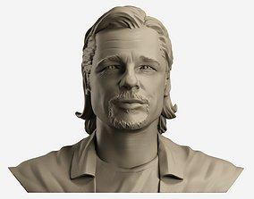 sculpting Brad Pitt 3d print model