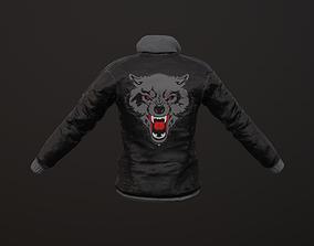 3D model low-poly Coat Tshirt PBR GameReady