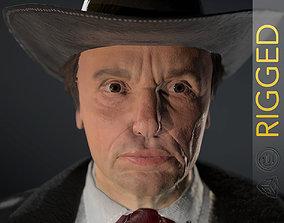 Cowboy Character 3D asset