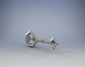 3D printable model Key of the Dwarven Stronghold