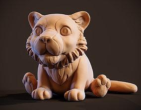 Little Tiger Toy 3D printable model