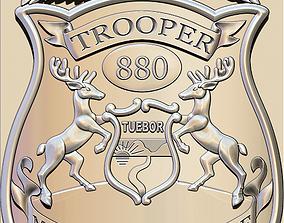 3D print model Police Badge Pendant
