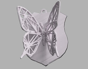 3D print model Papillon voronoi