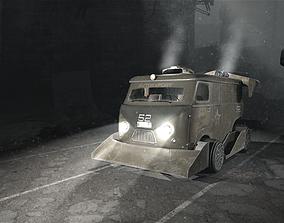 3D model UAZ CUSTOM CAR