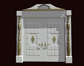 3D model gates Doors for a house