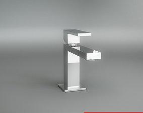chrome Tap Mixer 3D model