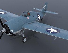 3D GRUMMAN F4F-3 WILDCAT 13