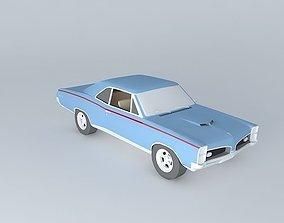 1967 Pontiac GTO Coupe 3D model