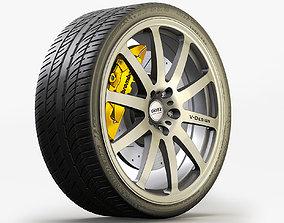Sport Wheels 3D model