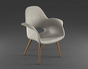 Organic Chair 3D asset