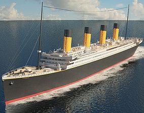 3D model RMS Titanic