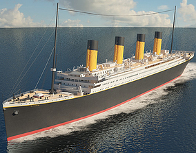 3D model RMS Titanic