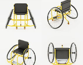 3D model Paralympic Wheelchair Sport for for disability 1