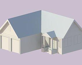 VR / AR ready 3D family house