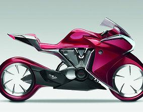 3D asset Cool looking Bike