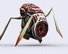 animated 3DRT - Insectoid Monster Spider