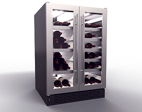 alcohol 3D Wine Fridge realtime