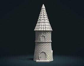 3D printable model Tower fantasy House