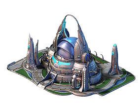 Spacecraft - Terrain Reconstruction Institute 02 3D model