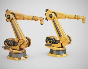 Industrial Robot Arm - Generic 01 3D model