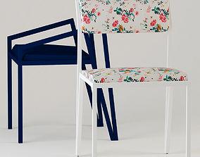 3D Chair Vevelt - Chair Spring Vevelt - Tiago