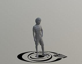 3D model Human 003 LP R