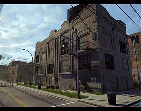 3D model Industrial City