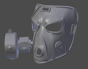 3D printable model Krieg Mask Borderlands 2