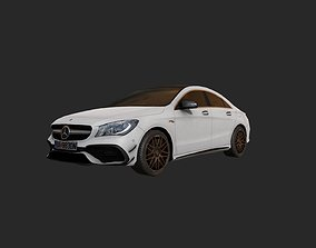 Low Poly Car 2 3D asset