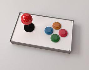 Arcade Joystick 3D