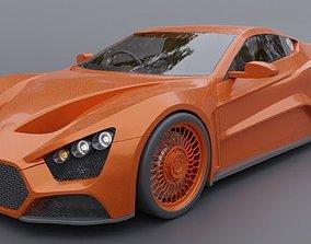 3D model racing Zenvo st1