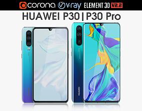 Huawei P30 Pro and Huawei P30 p20 3D