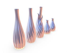Vase 6 flower-vase 3D print model