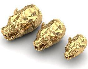 3D printable model TASSEL CAPS gold