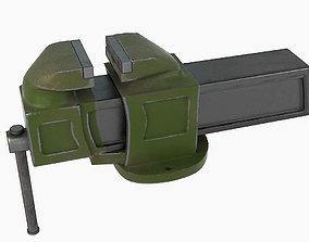 3D model Metal vise