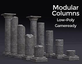3D asset Modular Columns
