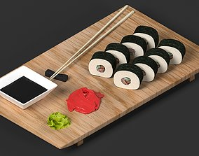 3D Sushi on a Board