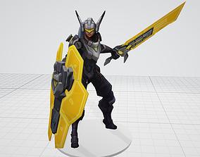 Project Leona Fanart 3D printable model