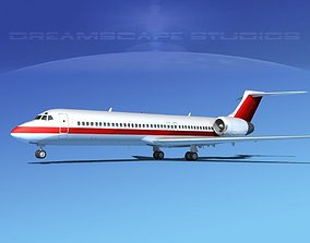 3D Boeing 717-200 Corporate 7