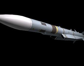 Meteor Missile 3D model