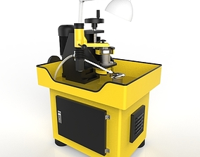3D model Saw-Diamond Blade Sharpening Machine