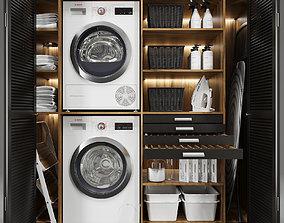 laundry 3D Laundry set 2