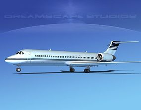 Boeing 717-200 Corporate 6 3D