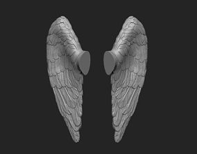 Little angel wings 3D print model